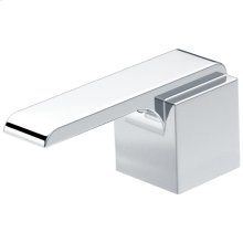 Chrome Metal Lever Handle Set