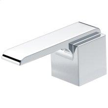 Chrome Metal Lever Handle Set
