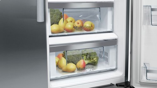 """300 Series 36"""" Freestanding Counter-Depth Side-by-Side Refrigerator, B20CS30SNS, Stainless Steel"""