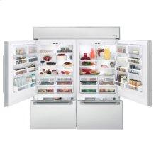 "GE Monogram® 72"" Professional Built-In Bottom-Freezer Refrigerator"
