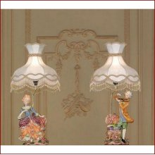"Lamp November (pair) 33"" H"