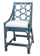 (SP) Roman Counter Stool -Blue Metallic(20X22X37) Product Image