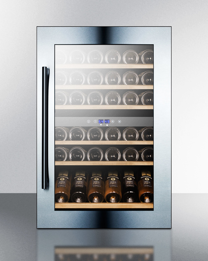 VC60D in by Summit in Watertown, NY - 51 Bottle Fully Integrated Dual Zone Wine Cellar With ...