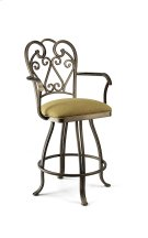 Ventura B518H26AS Swivel Back And Arms Bar Stool Product Image