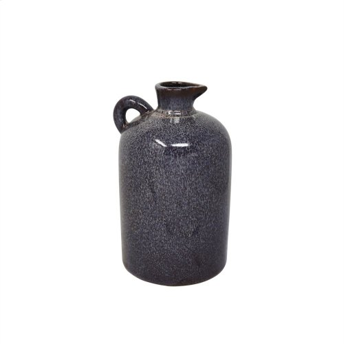 "Ceramic 10.25"" Pitcher, Burgburgundy"