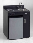 """Model CK30B-1 - 30"""" Complete Compact Kitchen with Refrigerator Product Image"""