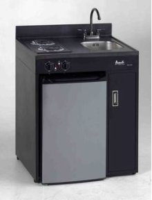 """Model CK30B-1 - 30"""" Complete Compact Kitchen with Refrigerator"""