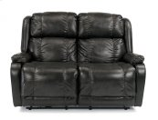 Marcus Fabric Power Reclining Loveseat
