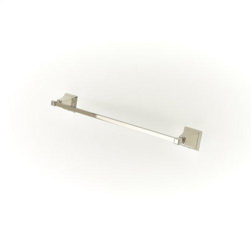 24in Towel Bar Leyden (series 14) Polished Nickel