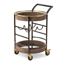PGA TOUR Clubhouse Suede Bar Cart