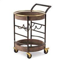 PGA TOUR Clubhouse Suede Bar Cart