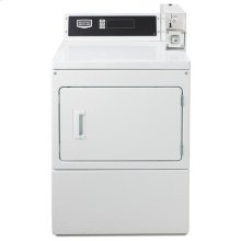 Commercial Electric Super-Capacity Dryer, Microprocessor Coin Drop Ready