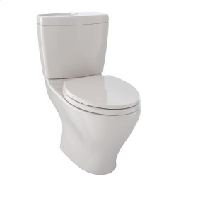 Aquia® Dual Flush Two-Piece Toilet, 1.6 GPF & 0.9 GPF, Elongated Bowl - Sedona Beige