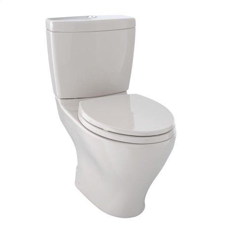 Aquia® Dual Flush Two-Piece Toilet, 1.6 GPF & 0.9 GPF, Elongated Bowl - Sedona Beige