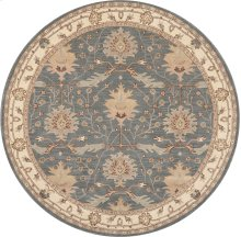 India House Ih75 Bl Round Rug 8' X 8'