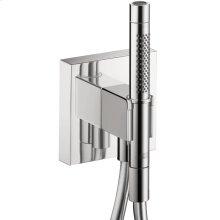 Chrome Porter unit 120/120 with baton hand shower and shower hose