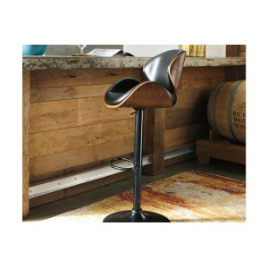 AshleySIGNATURE DESIGN BY ASHLEYTall UPH Swivel Barstool(1/CN)