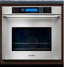"Discovery 30"" Epicure Single Wall Oven, in Stainless Steel with Chrome Trim"