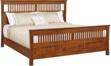 Morris Panel Bed Twin