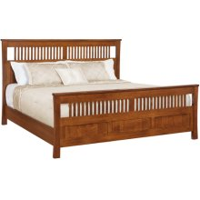 Morris Panel Bed California King