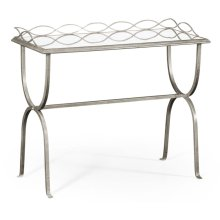 glomise & Silver Iron Drinks Table