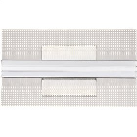 Bravo Wall Sconce in Polished Chrome