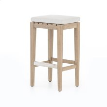 Bar Stool Size Stone Grey Cover Dale Bar + Counter Stool, Washed Brown