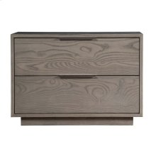 "Dartmoor 32"" Two Drawer Nightstand"
