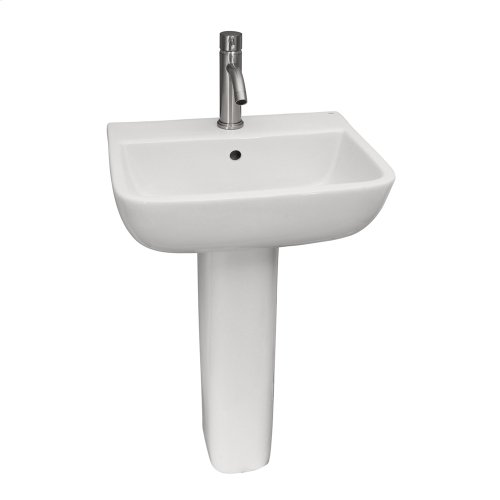 Series 600 Pedestal Lavatory - White