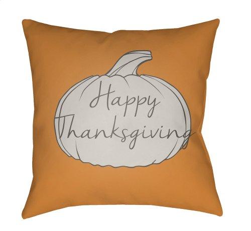 "Happy Thanksgiving HPY-002 20"" x 20"""