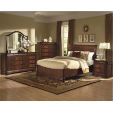 Sheridan 6/0 WK Bed w/Storage Base - Mirror