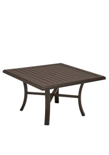 "Banchetto 42"" Square Chat Umbrella Table"