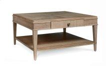 Roséline Liam Square Cocktail Table -- Natural Oak