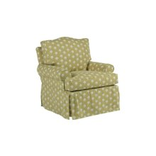 Topsail Slipcover Swivel Chair