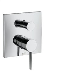 Brushed Bronze Single lever bath mixer for concealed installation
