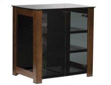 AV Component Stand Designed exclusively for SANUS by Cramer Studio