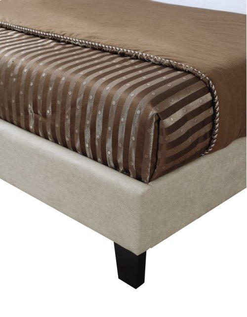 Emerald Home Harper Upholstered Bed Kit Full Taupe B129-09hbfbr-05