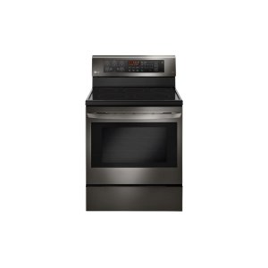 LG AppliancesLG Black Stainless Steel Series 6.3 cu. ft. Capacity Electric Single Oven Range with True Convection and EasyClean(R)