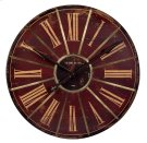 Red Large Wall Clock Product Image