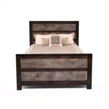 Urban Graphite Panel Bed - 45440 - Queen Bed (complete)