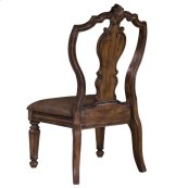 San Mateo Carved Back Side Chair
