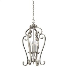 Monroe Collection Chandelier Foyer Cage 4Lt NI