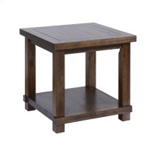 Higgins Farmhouse Stain Side Table