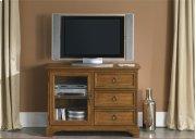 TV Console - 44 Inch - Oak Product Image