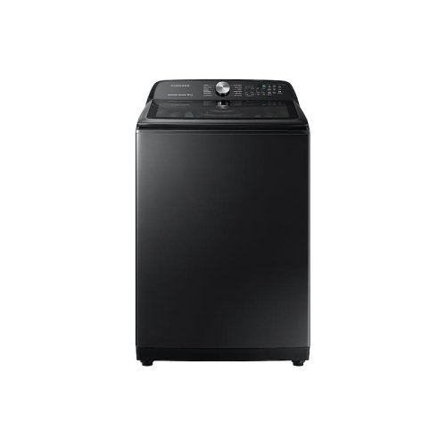 WA5400 5.0 cu. ft. Top Load Washer with Super Speed in Black Stainless Steel