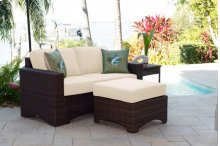 Key Biscayne 4 PC Loveseat Set