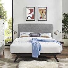 Tracy 3 Piece Queen Bedroom Set in Cappuccino Gray