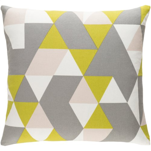 """Trudy TRUD-7147 18"""" x 18"""" Pillow Shell with Polyester Insert"""