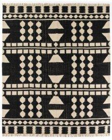 9'x12' Size Argus Block Pattern Rug