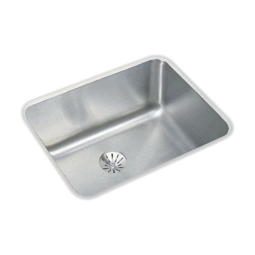 "Elkay Lustertone Classic Stainless Steel, 20-1/2"" x 16-1/2"" x 7-7/8"", Single Bowl Undermount Sink with Perfect Drain"